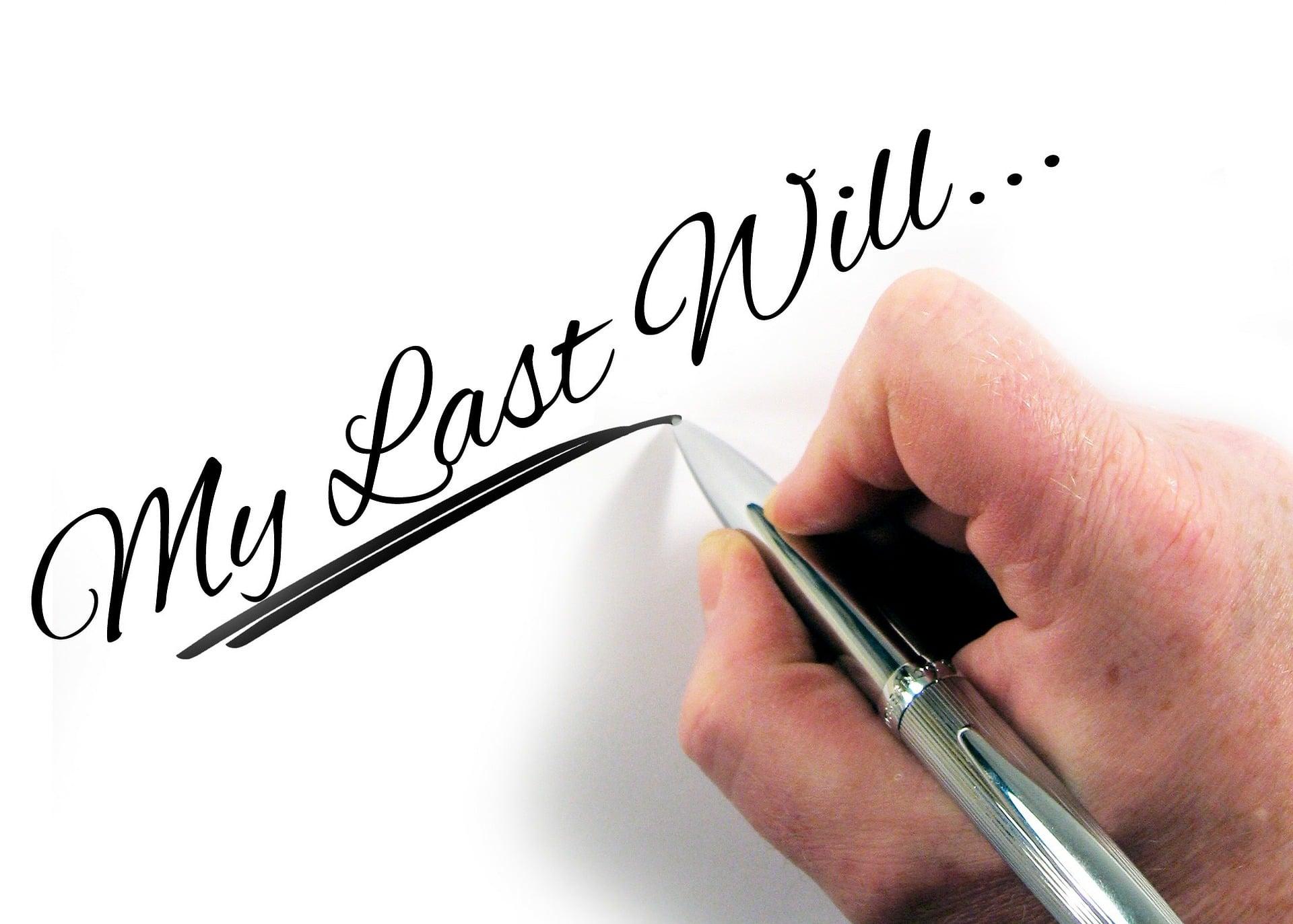 por qué hacer testamento